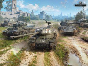 装甲戦闘車両を操って戦場を駆ける!人気のオンライン戦車バトル『World of Tanks』