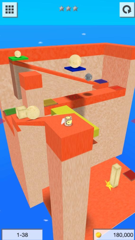 3Dゲームを作ろう - 物理アクションパズルゲームメーカー